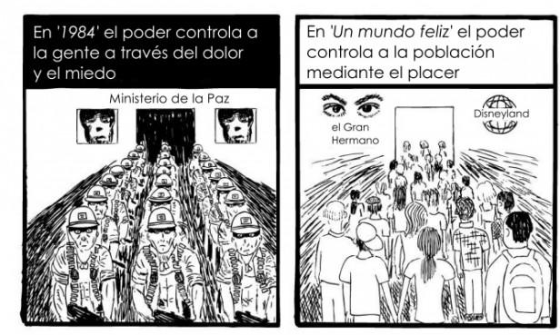 Macri o Scioli o Huxley u Orwell