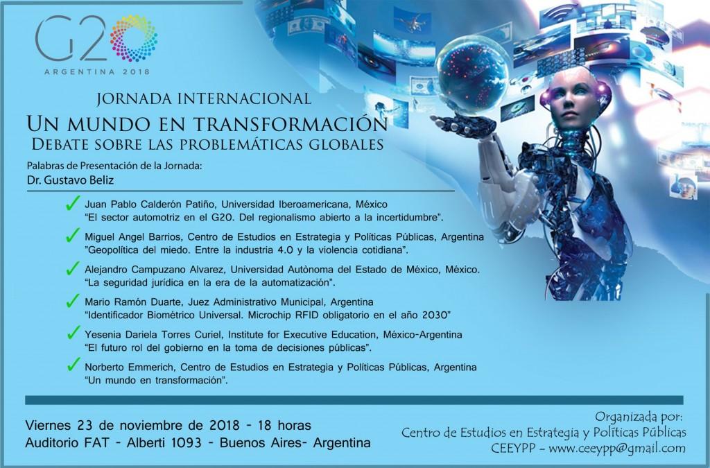 Invitación a jornadas internacionales