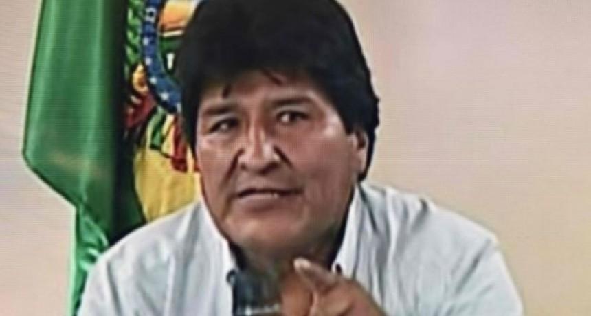 La rebelión institucional se dio en Bolivia.