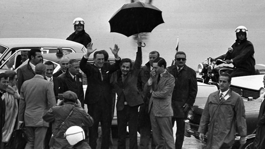 17 de noviembre de 1972: El día del paraguas