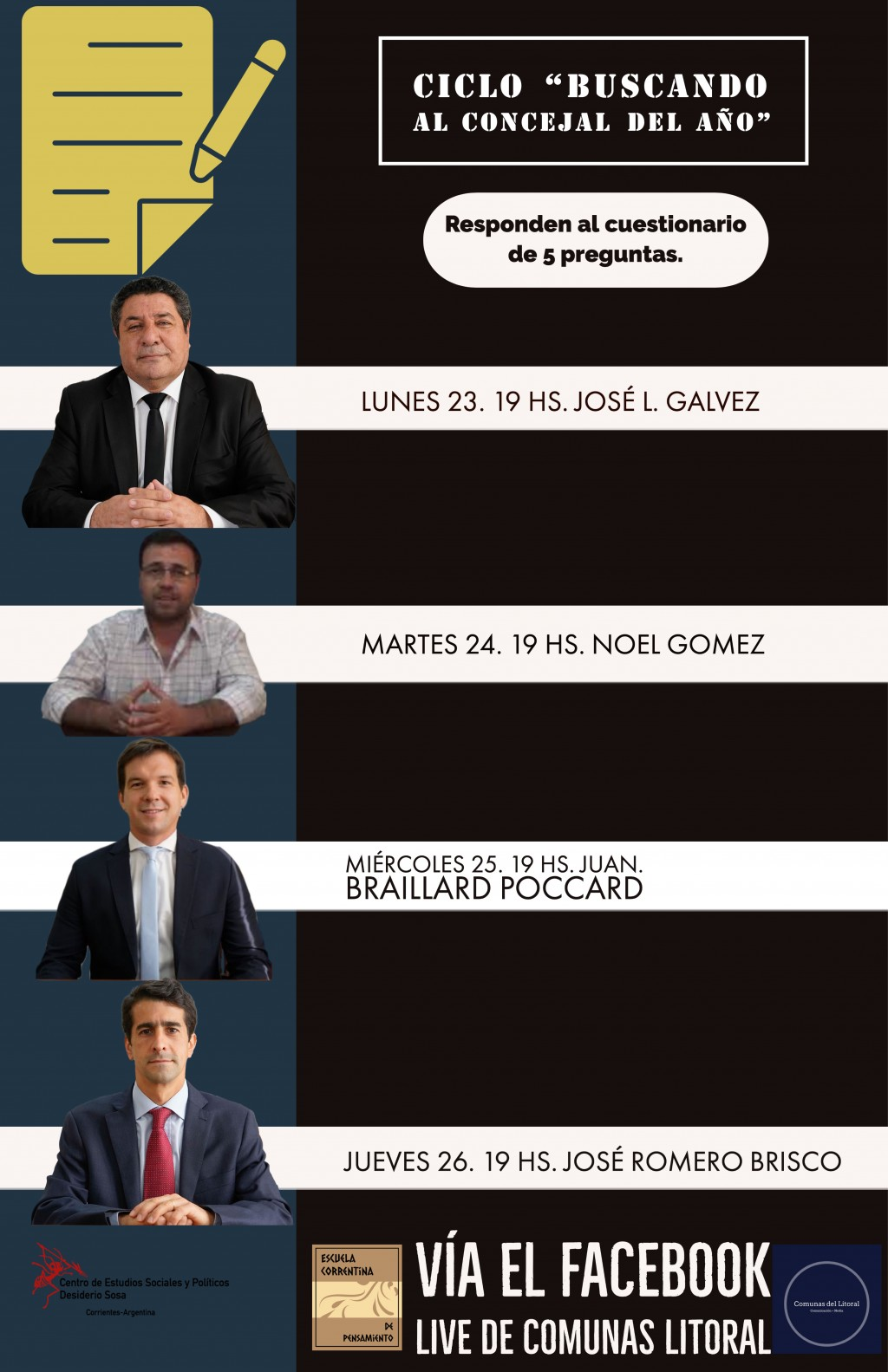 """""""Buscando concejal del año""""."""