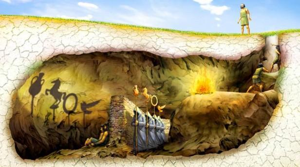 El mito de la caverna como alegoría de los 12 años de Kirchnerismo.