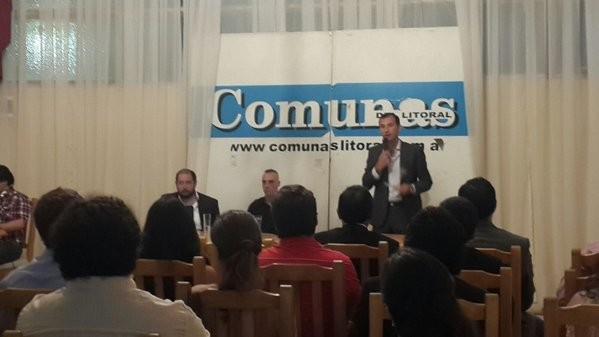 Se entregaron los Premios Comunas del Litoral 2015.