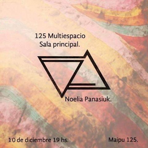 Noelia Panasiuk en Galería 125.