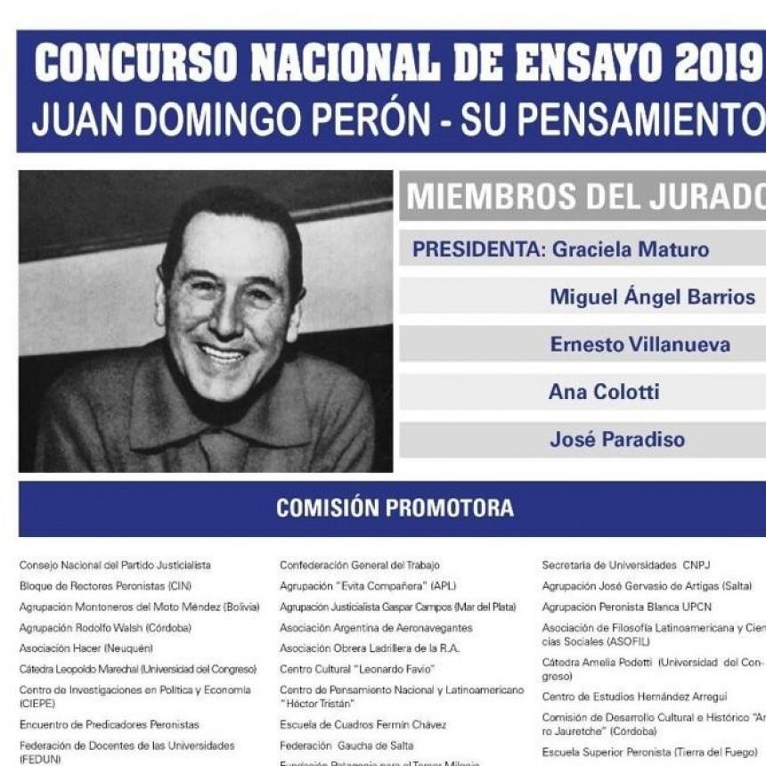 Concurso de ensayo 2019.