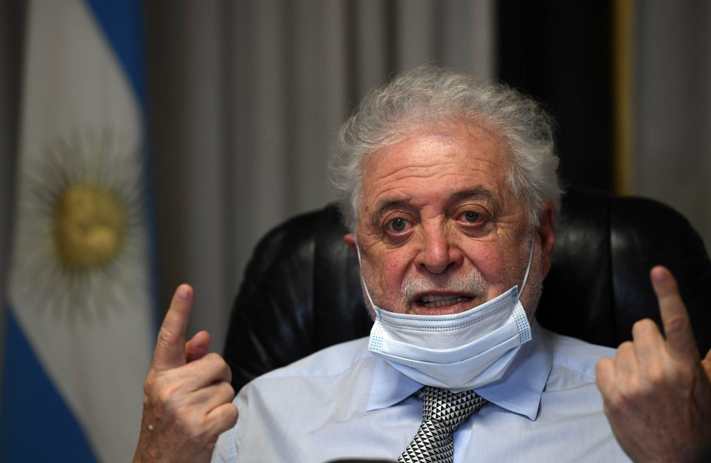 Repudian expresiones del Ministro Ginés González García.